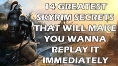 14 Greatest Skyrim Secrets That Will Make You Wanna Replay It Immediately