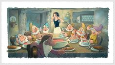 """""""The Lost Soup Scene (Deluxe)"""" by Toby Bluth 