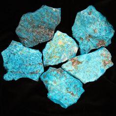 Kingman Turquoise -from the mine in Kingman Arizona.