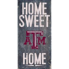 Texas A&M Aggies Sweet Home Wall Art, Multicolor