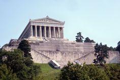 19TH CENTURY, Neo-Classicism, Germany - Leo Von Klenze (1784-1864): Walhalla temple near Regensburg,  1816–1842.
