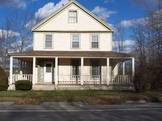 Calais, ME.  Mid 1800 3bd/1.75 bath.  Wood burning fireplace.  Ooh la la on the wrap around porch!  Back Yard leads to the St. Croix River!  .18 acres.  85000.  I wonder what it looks like inside?