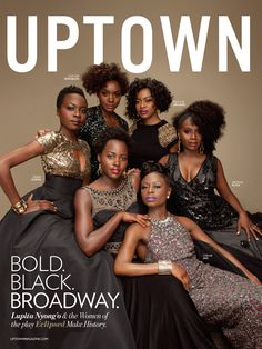 Lupita Nyong'o and the women of Eclipsed are taking a historic turn on Broadway.