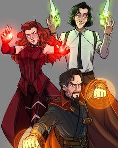 Marvel Avengers Movies, Marvel Fan Art, Loki Marvel, Disney Marvel, Marvel Funny, Marvel Dc Comics, Marvel Heroes, Fanart, Marvel Drawings