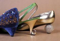 Unusual heel styles: pyramid, spiral, ball