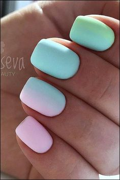 153 nail designs you can try in 2020 . 153 nail designs you can try in 2019 . Cute Summer Nail Designs, Cute Summer Nails, Spring Nails, Cute Nails, Pretty Nails, Summer Gel Nails, Summery Nails, Summer Nails Almond, Bright Summer Nails