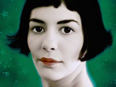 the top ten french movies- audrey tautou stars in the 2007 film amelie directed by Jean-Pierre Jeunet
