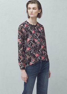 Блузка с запáхом - Рубашки - Женская | OUTLET Россия (Российская Федерация)