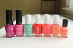 seven must-have nail polishes