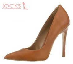 10.5cm heel pump made in Greece