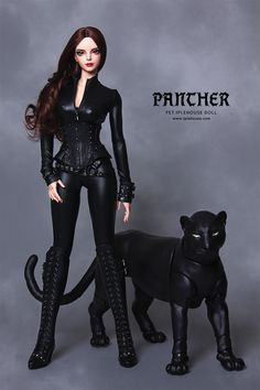 ITEM VIEW : Pet Doll - Panther