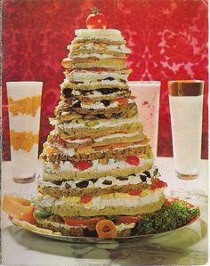 """Sandwich Fantasy"" & Yogurt Parfaits 1964 by cbder, via Flickr"