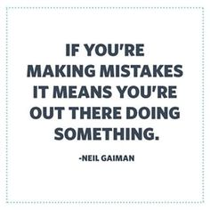 Mistakes are part of the journey. Learn from them and keep working towards your goal!