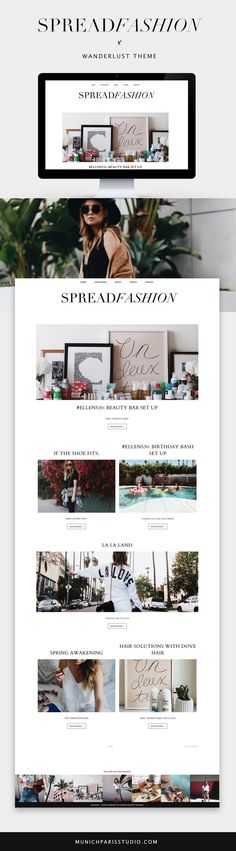 54 Ideas Travel Design Layout Beautiful For 2019 Fashion Website Design, Website Design Inspiration, Fashion Design, Web Design Trends, Blog Design, Website Layout, Magazin Design, Magazine Layout Design, Magazine Layouts