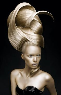 #avantgaurd#creativedesign#goldhair
