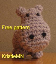 Free Amigurumi Patterns: Amigurumi Hippopotamus