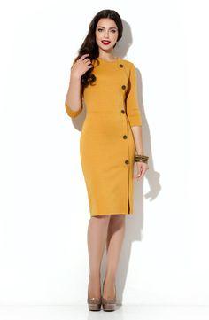Элегантное платье из «джерси» 2