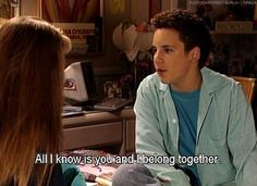 17 Times Cory & Topanga From 'Boy Meets World' Were Your Relationship Goals Boy Meets Girl, Girl Meets World, Cory Matthews, Cory And Topanga, Best Tv Couples, World Quotes, Quotes Quotes, Before Us, Music Tv