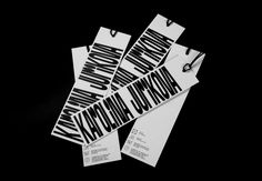 Ondrej Bachor's visual identity for fashion designer Karolina Jurikova is a collaboration with fellow designer Jan Horčik. The project started as an academy project at UMPRUM in Prague and aimed to create a complete identity inspired by Karolina's work. Type Design, Label Design, Box Design, Packaging Design, Graphic Design, Typeface Font, Typography, Fonts, Visual Identity