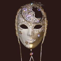 Venetian mask (Voltro Luna Blue Moon) Mask