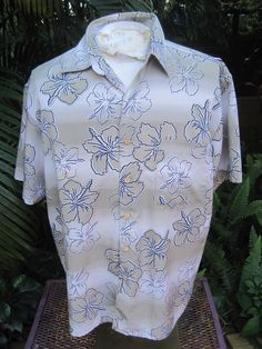 29126dc44 Polyester Regular Size L Hawaiian Casual Shirts for Men | eBay. HAWAIIAN  Aloha SHIRT L pit to pit 25 EXTREME GEAR ...