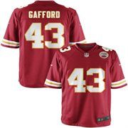 Nike Youth Kansas City Chiefs Thomas Gafford Team Color Game Jersey