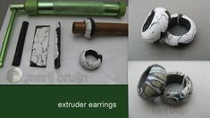 extruder earrings | Flickr - Photo Sharing!