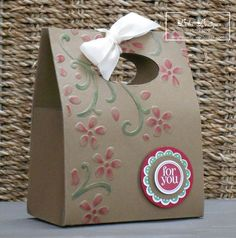 Floral Gift Bag
