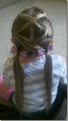 5 Fun Hair Styles for Girls - will need to do this soon for Nora!