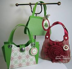 Tres Chic Handbag Holiday Collection by geobeck - Cards and Paper Crafts at Splitcoaststampers