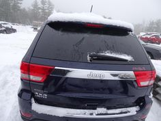 DECKLID TAILGATE Jeep Parts For Sale, 2012 Jeep, Jeep Grand Cherokee, Used Parts, Rear View, New England, Trucks, Vehicles, Truck