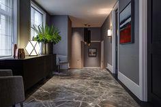 Knightsbridge Penthouse | Staffan Tollgard Gorgeous floor, looks almost like water.