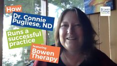 How Dr.  Connie Pugliese, ND runs a successful practice featuring Bowen ... College Website, Curriculum, Health Care, Therapy, Success, Social Media, Running, Education, Videos