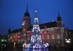 fot. Olga Wójcik #citysquare #chrismtastree #lights