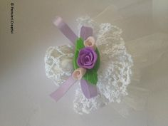 Tutorial bomboniera uncinetto- Crochet wedding favor tutorial (italian)