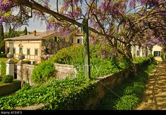 The Villa And Gardens Of La Foce Tuscany Italy Made Famous By The ...