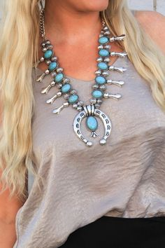 Choctaw Turquoise Necklace