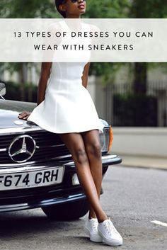13 Types of Dresses You Can Wear with Sneakers via @PureWow via @PureWow