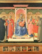 Fra Angelico (Italian, ca.1395-1455) ~ Annalena Altarpiece ~ Convent of San Marco ~ Florence