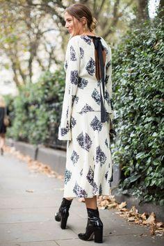 Les Modeuses Envahissent les Rues de Londres Pour la Fashion Week Jour 4