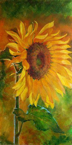 Sunflower by Irinia Effa  http://fineartamerica.com/featured/sunflower-irina-effa.html