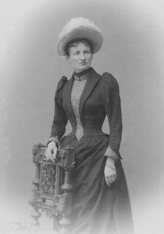 Princess Arnulf of Bavaria (born Therese of Liechtenstein) Victorian Women, Edwardian Era, Victorian Era, Victorian Fashion, German Royal Family, Indian Family, 1890s Fashion, Historical Clothing, Bavaria