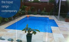 Contemporary Pool | Fibreglass Pool Range