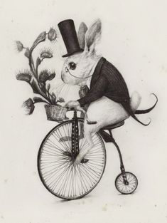 Delivery Rabbit by AudreyBenjaminsen on deviantART