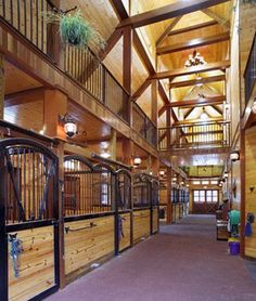 Cuz' the dream house has to have a dream barn! Dream Stables, Dream Barn, My Dream Home, Barn Stalls, Horse Stalls, Future Farms, Horse Ranch, Barn Plans, Horse Farms