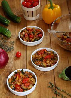 Préparation crumble aux légumes du soleil Menu, Gluten Free, Vegetables, Ramadan, Ethnic Recipes, Foodies, Cooking, Veggie Bake, Meat