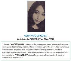 Embajador PATRONEO KEY en ZACATECAS