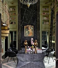 Glamorous Interior Design by Kelly Wearstler   InteriorHolic.com