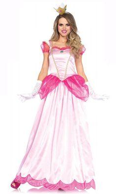 Pink Princess Peach Costume