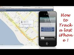 How to Track a lost iPhone!!! https://youtu.be/CY1VAP28cGA  SUBSCRIBE Now: https://www.youtube.com/channel/UCIU7NFPeSON16KgIanKTkbA  Find Lost iPhone Using iCloud: http://ift.tt/1wSpVNY  Misplacing a cellular phone or having one stolen is a terrible experience. We store a vast amount of personal data on our telephones. From health or medical information personal photos and payment details -- our phones hold intimate details of our lives.  To be able to assist in finding a lost iPhone Apple…